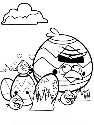 angry birds para colorear 6