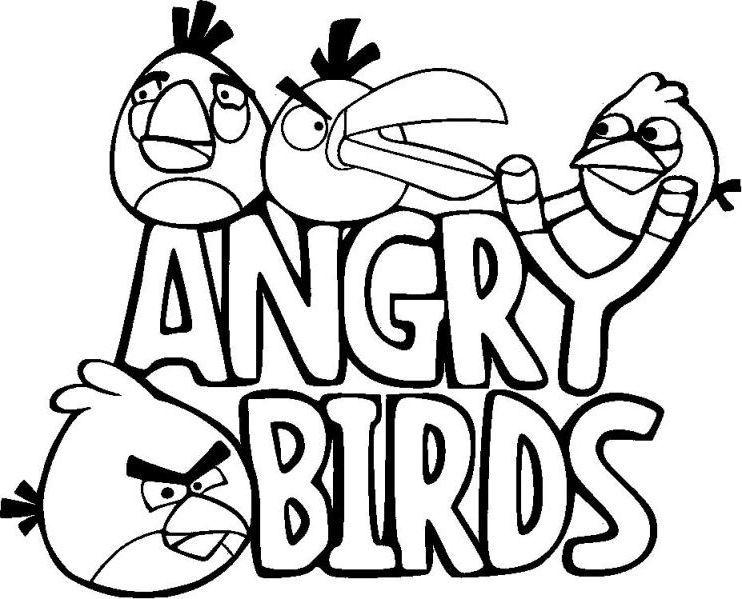 angry birds para colorear 8