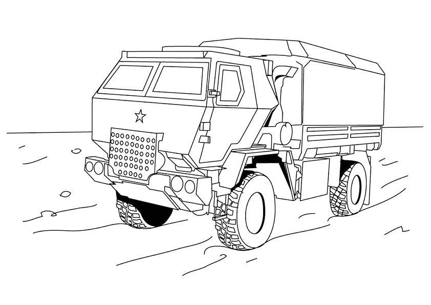 camiones para colorear 3 paris dakar