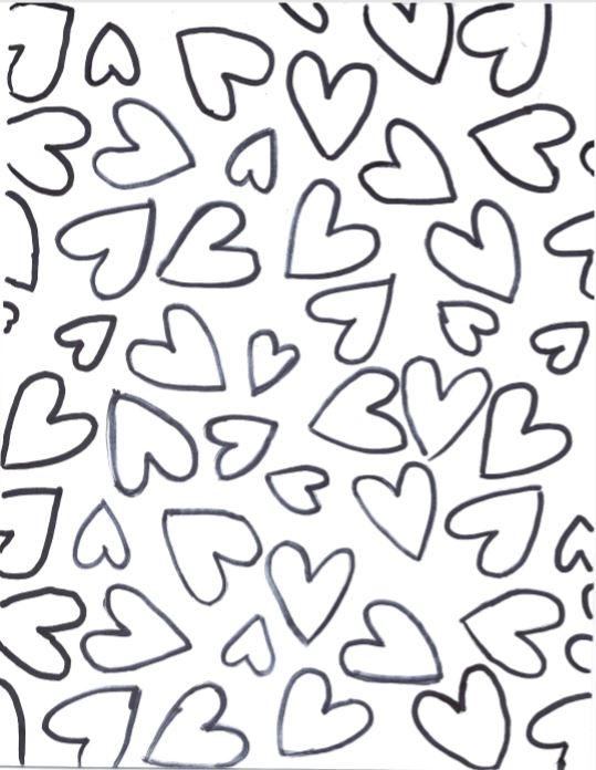 corazones para colorear 19 corazoncitos
