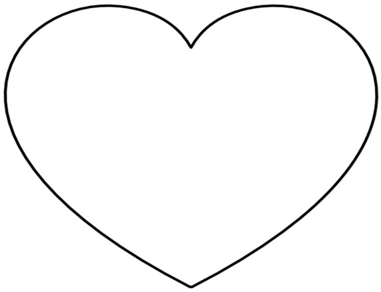 corazones para colorear 3