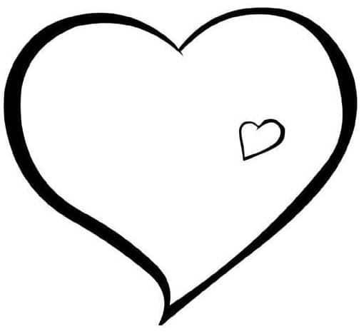 corazones para colorear 35