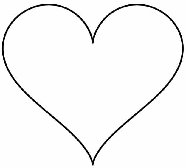 corazones para colorear 8