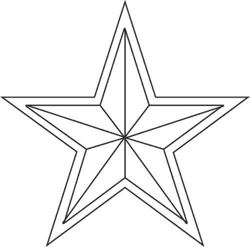dibujos de navidad para colorear 11 estrella de navidad
