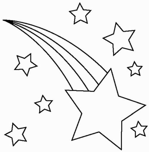 dibujos de navidad para colorear 13 estrella de navidad
