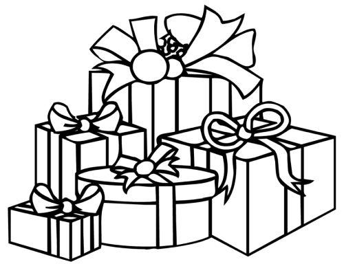 dibujos de navidad para colorear 38 regalos de navidad