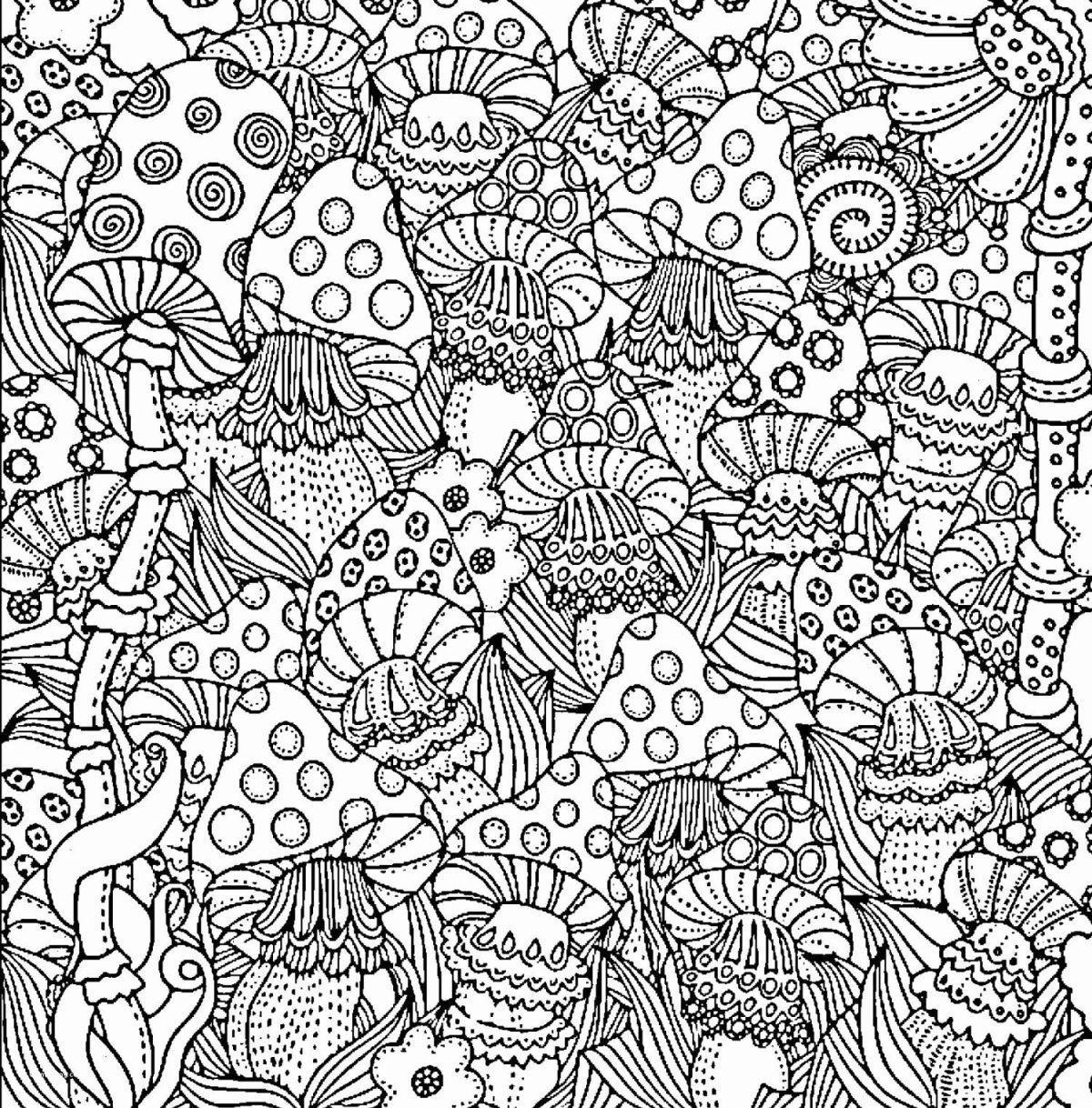 dibujos para colorear dificiles 13 setas