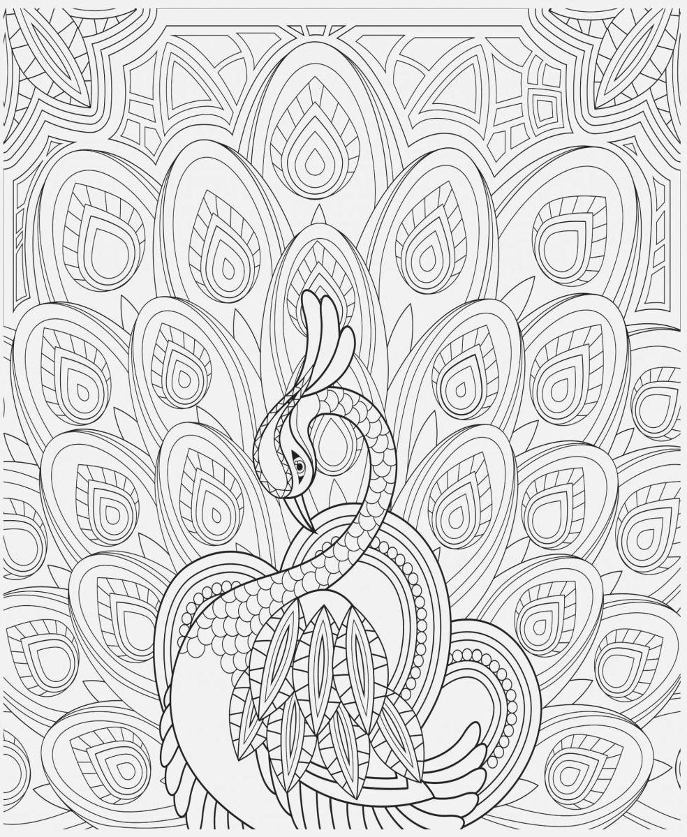 dibujos para colorear dificiles 20 pavo real