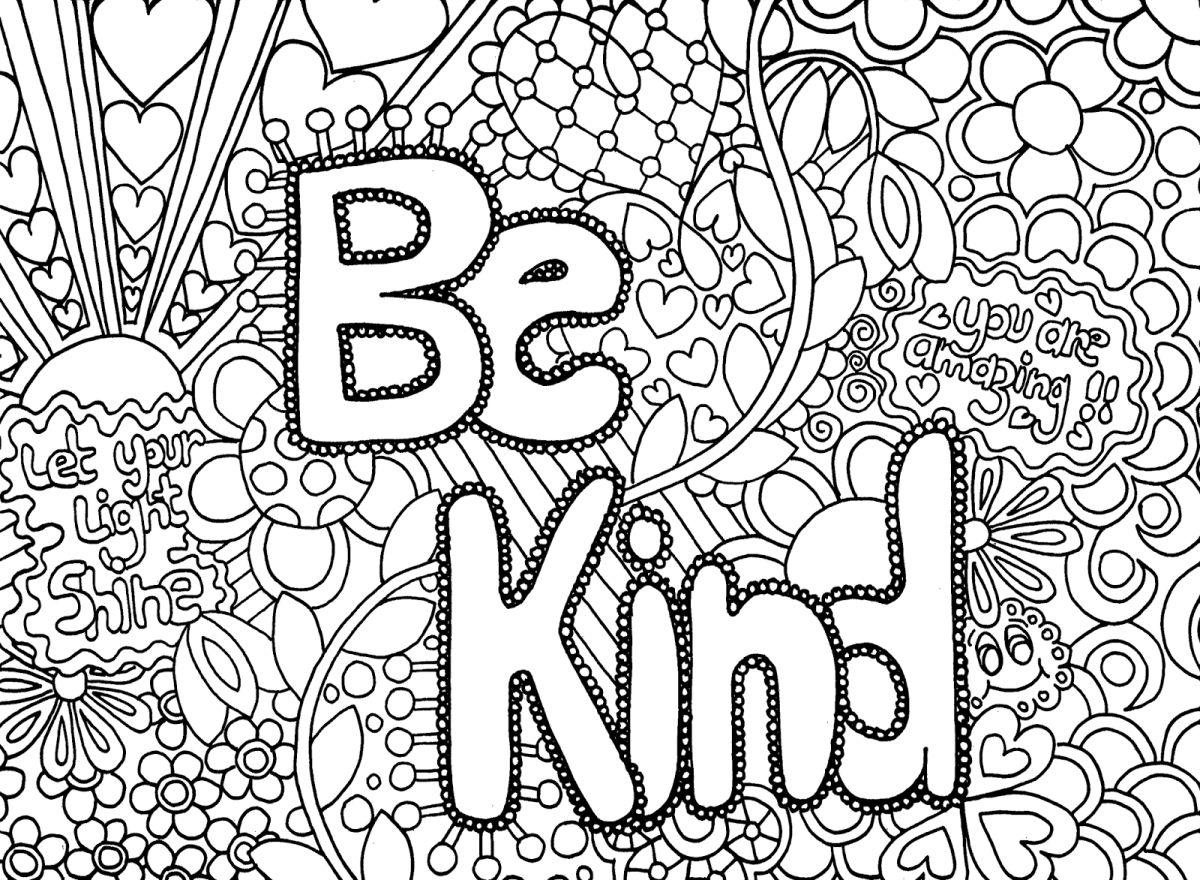 dibujos para colorear dificiles 23 be kind