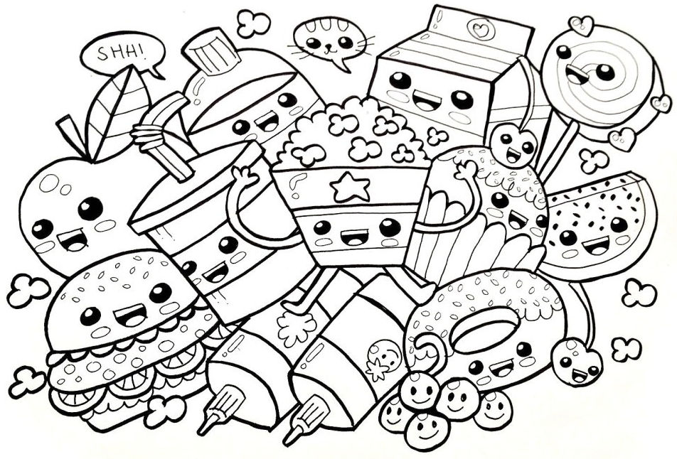 Dibujos para colorear difíciles - Colorear24.com