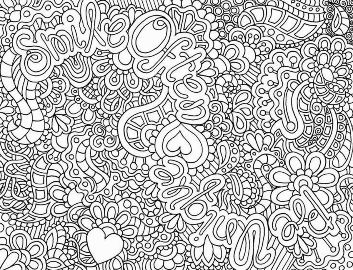 dibujos para colorear dificiles 9 smile often be unique
