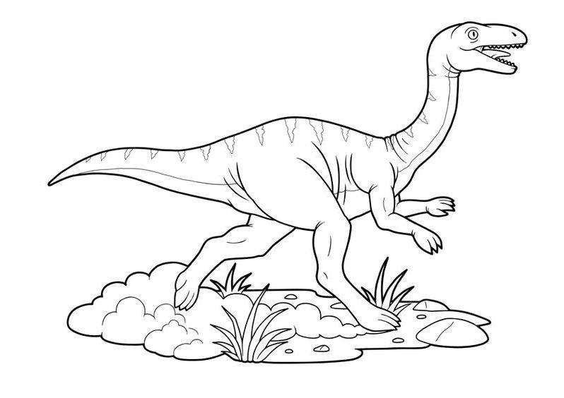 dinosaurios para colorear 5