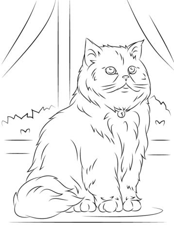 gatos para colorear 9