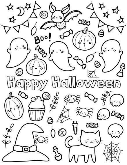 halloween para colorear 49