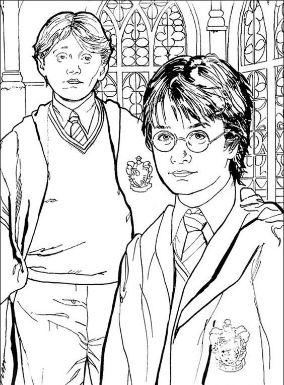 harry potter 11 con ron