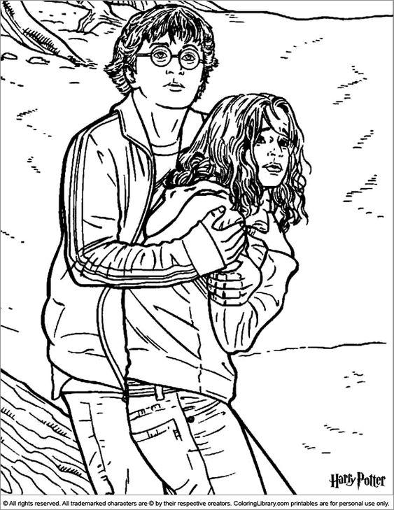 harry potter 14 con hermione