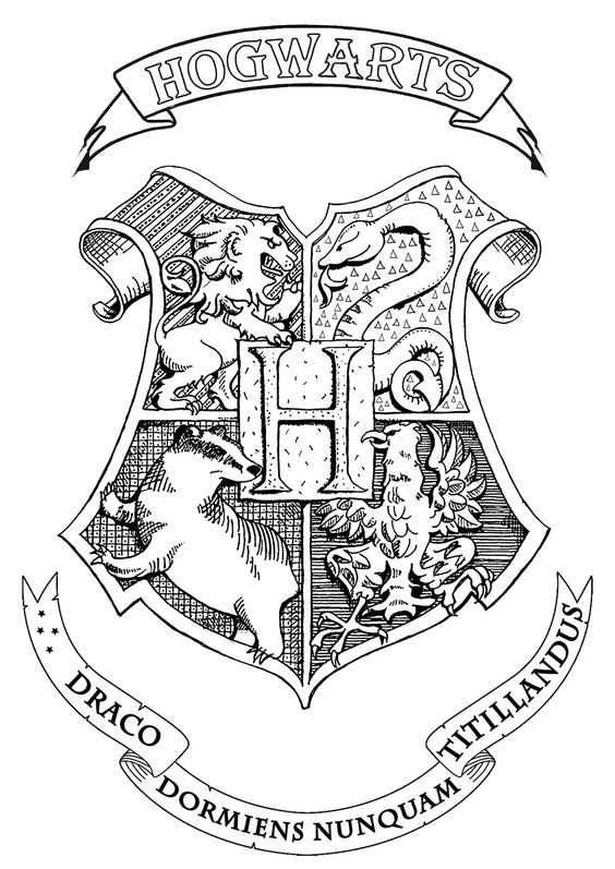 harry potter 20 escudo hogwarts