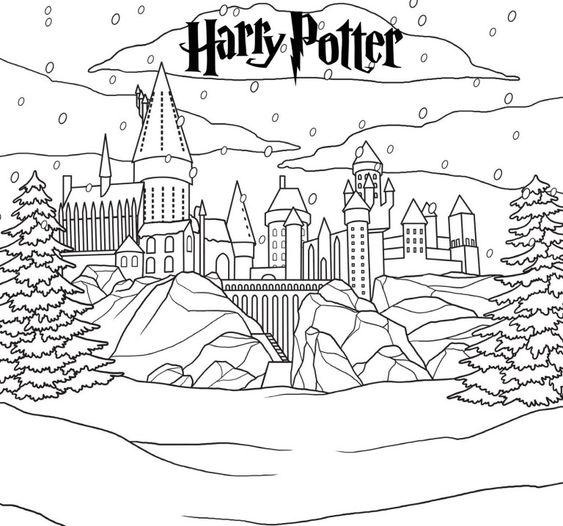 harry potter 4 castillo de hogwarts