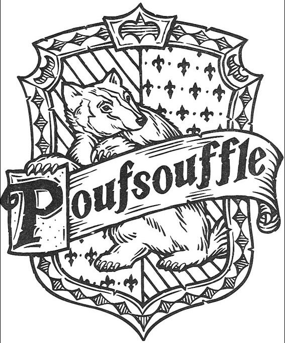 harry potter 43 escudo poufsouffle