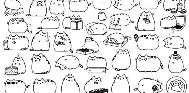 Dibujos Para Colorear De Gatitos Bebes Dibujos Para Colorear