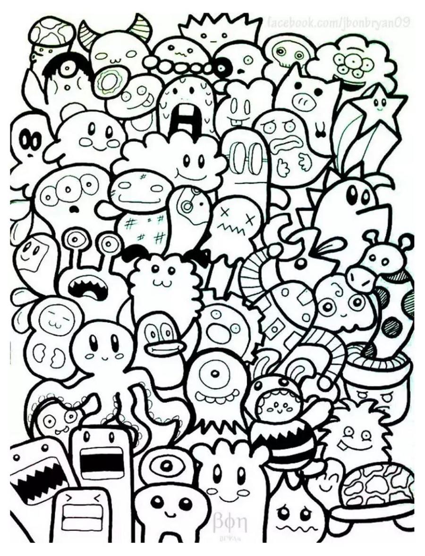 Dibujos De Kawaii Para Colorear Colorear24 Com
