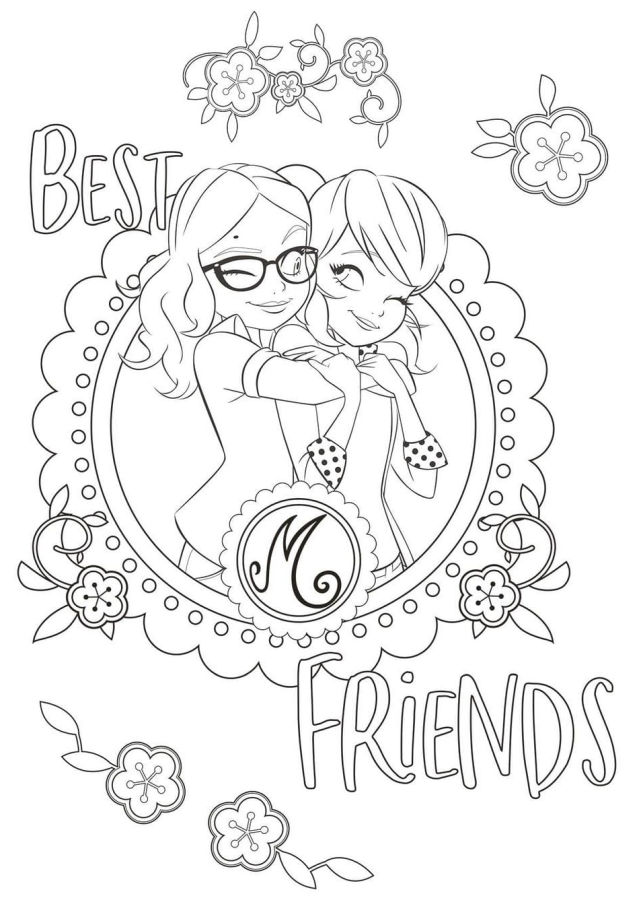 ladybug para colorear 43 best friends