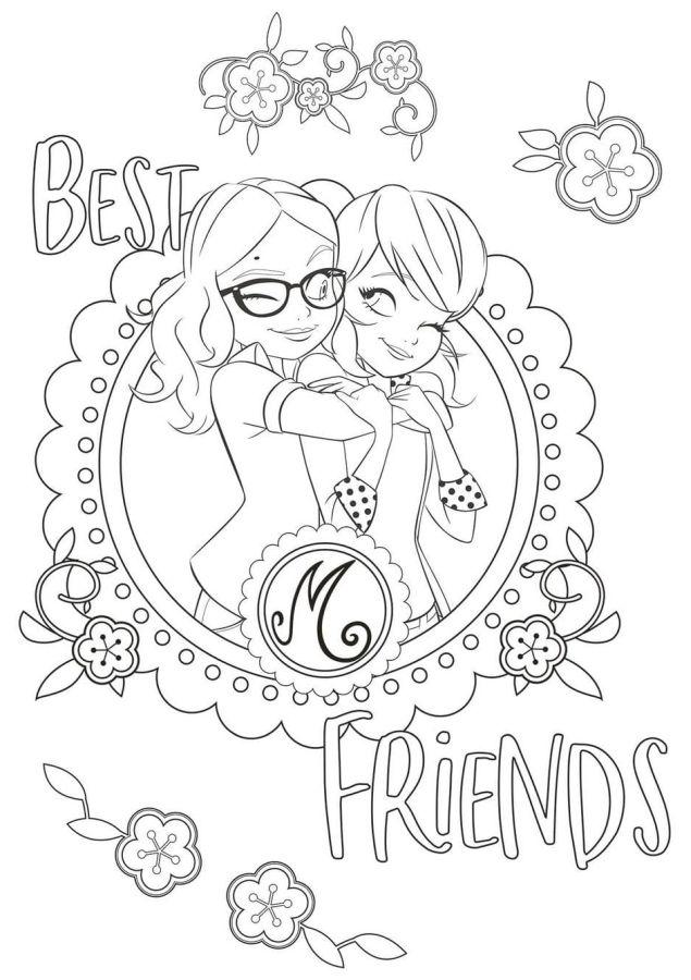 ladybug para colorear 43 best friends
