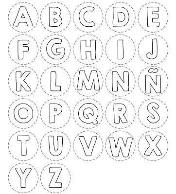 letras para colorear abecedario 4