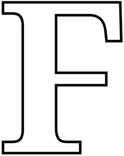 letras para colorear f 3