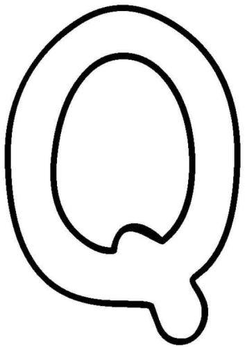 letras para colorear q 2
