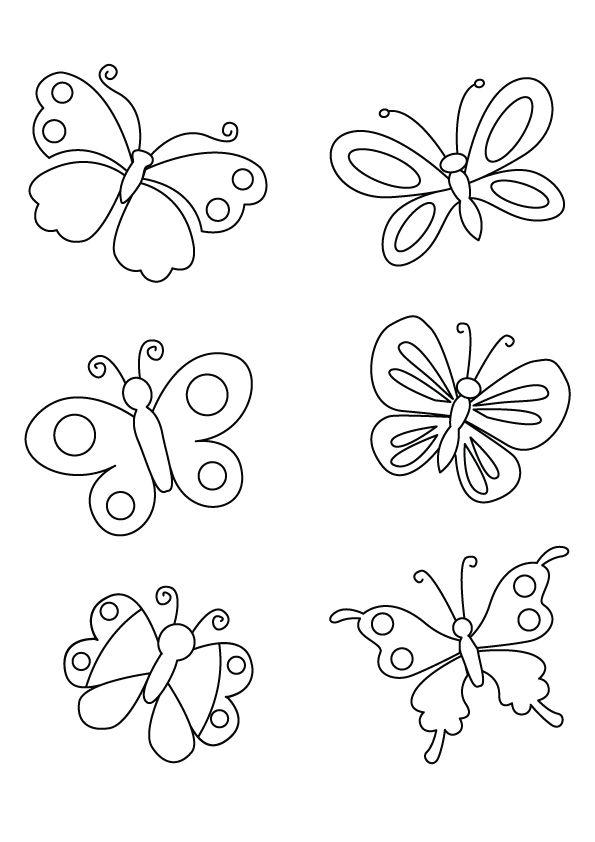 mariposas para colorear 10