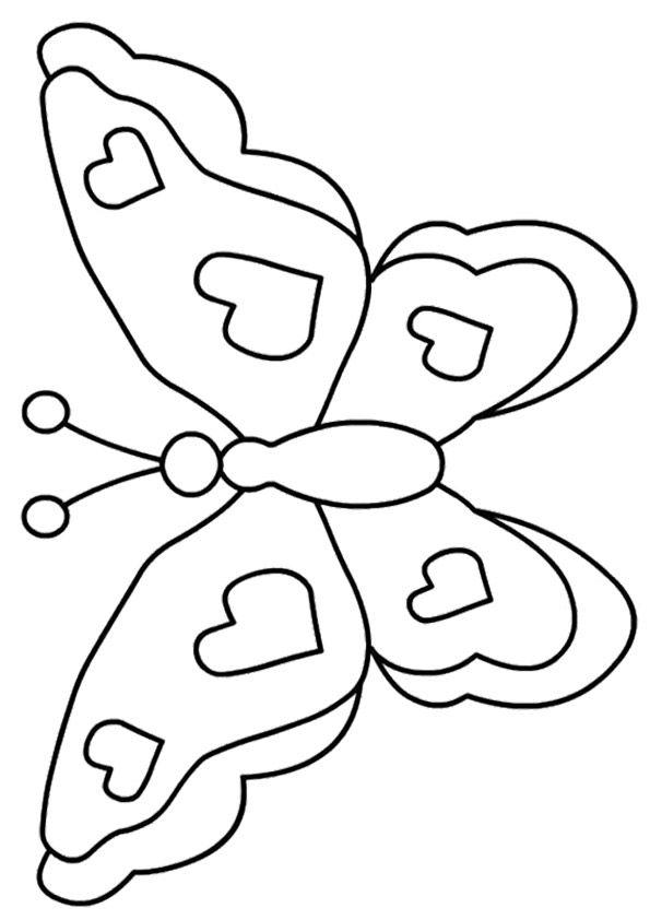 mariposas para colorear 4