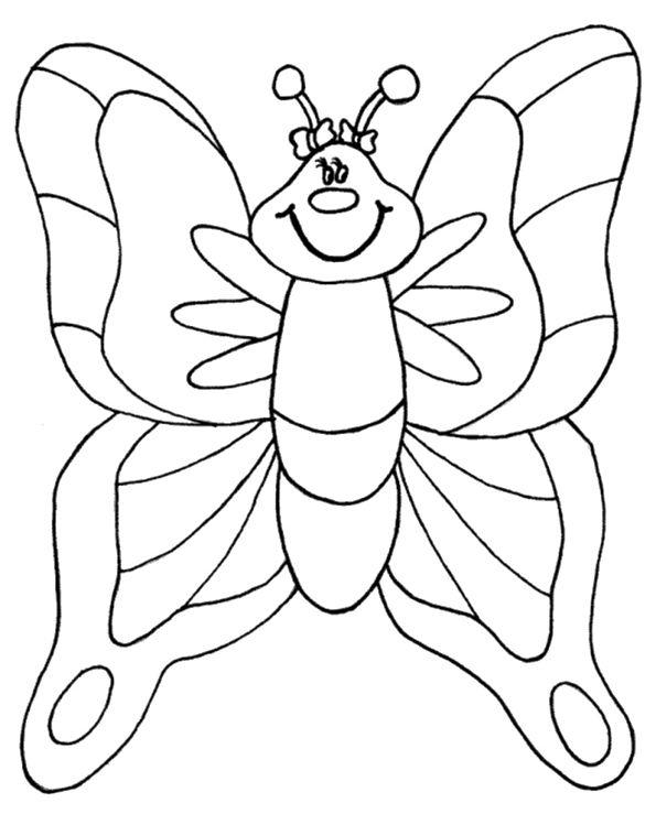 mariposas para colorear 5