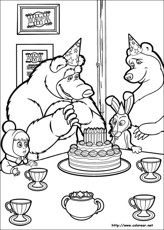 masha y el oso 38 fiesta de cumpleaños