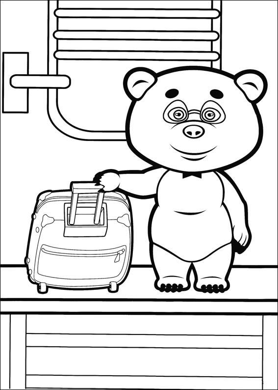 masha y el oso 4 osito