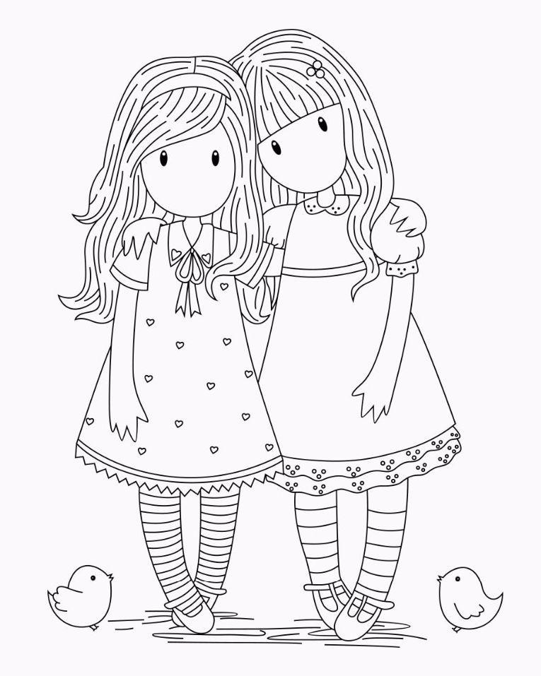 Dibujos De Muñecas Para Colorear Colorear24 Com