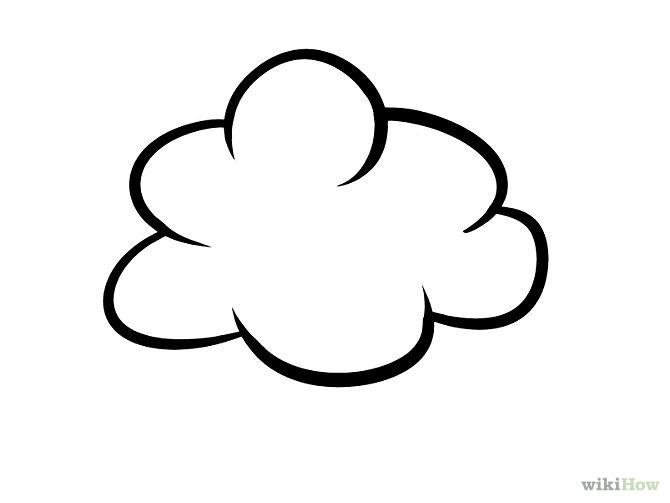 nubes para colorear 8