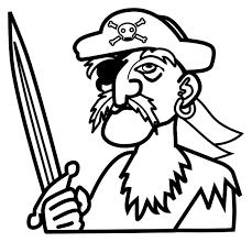 piratas para colorear 10