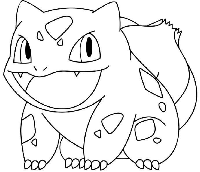 pokemon para colorear bulbasaur 2
