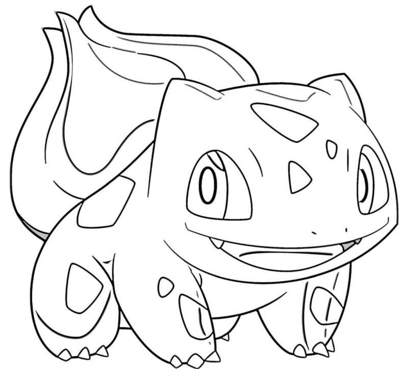 pokemon para colorear bulbasaur 3