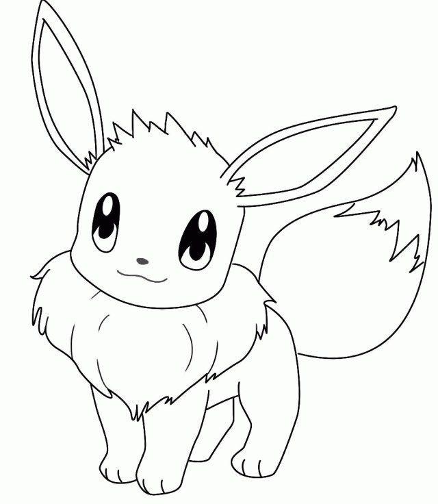 pokemon para colorear eevee 2