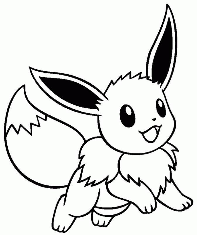 pokemon para colorear eevee 3