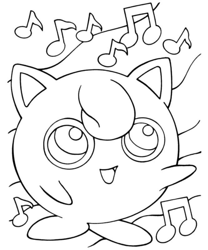 pokemon para colorear jigglypuff 2