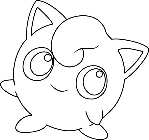 pokemon para colorear jigglypuff 3