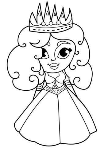 princesas para colorear 10 dibujos animados