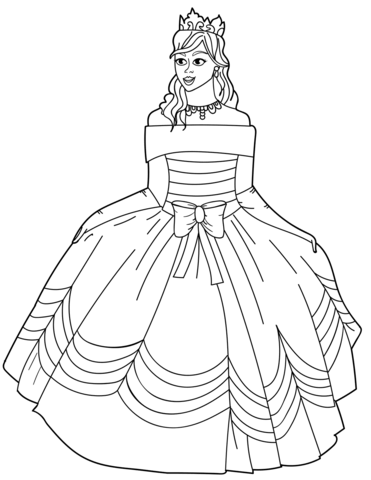 princesas para colorear 35