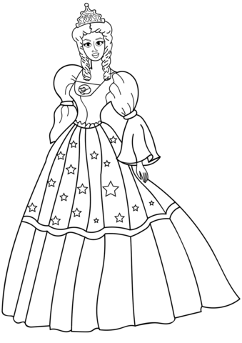 princesas para colorear 45