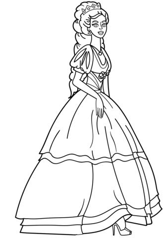 princesas para colorear 46