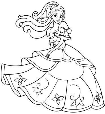 princesas para colorear 53