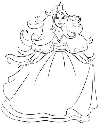 princesas para colorear 54